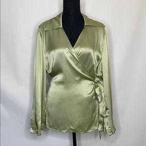 Diane von Furstenburg silk assets top nwot